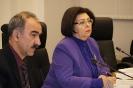 Руководитель секретариата уполномоченного Владимир Белоножкин и омбудсмен Татьяна Зражевская