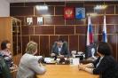 С главой администрации Копыловым В.И.