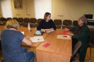 Правовой марафон для пенсионеров продолжается. Воронежцев консультировали адвокаты