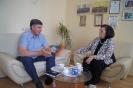 Омбудсмен и гендиректор издательского дома «Свободная пресса» обсудили вопросы взаимодействия