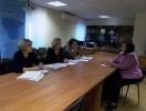Омбудсмен встретилась с представителями  департамента социальной защиты Воронежской области