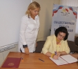 Омбудсмен приняла участие в подписании  соглашения с Общественной палатой Воронежской области
