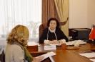 Уполномоченный по правам человека Татьяна Зражевская  провела прием граждан в рамках Всероссийской н