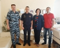 Рабочая встреча с руководителем регионального УФСИН 02.07.19