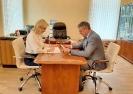 Омбудсмен провел рабочую встречу с председателем Общественной палаты региона