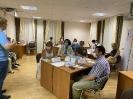 участие в рабочем заседании Общественного штаба по наблюдению за выборами 220221