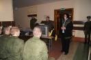 выступление перед солдатами